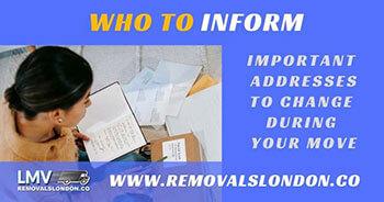 Who to inform Checklist