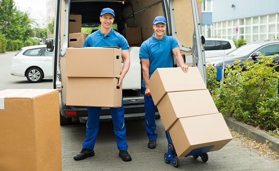Removals from London to Calne