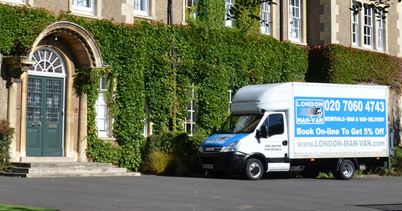 UK Removals from London to Ivybridge