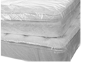 Buy Double Mattress cover - Plastic / Polythene   in Fetcham