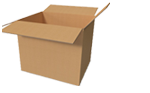 Buy Large Cardboard Boxes - Moving Double Wall Boxes in Broad Green