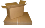 Buy Small Cardboard Boxes - Moving Double Wall Boxes in Broad Green