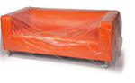 Buy Three Seat Sofa cover - Plastic / Polythene   in Luxted