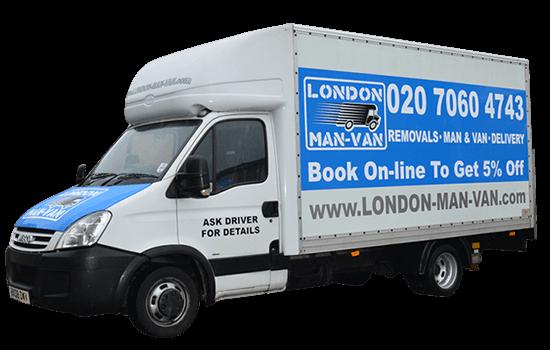 Luton Removals Van in London