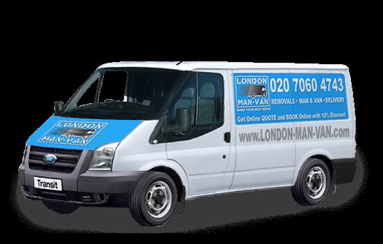 Medium Removals Van in Honor Oak