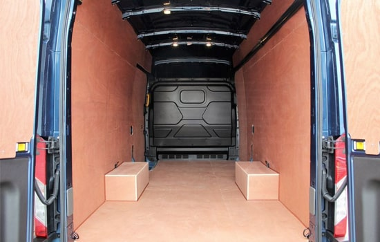Removals Extra Large Van and Man Hire De Beauvoir Town - Inside View