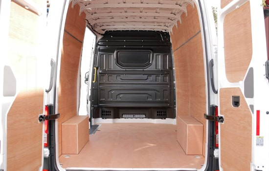 Removals Large Van and Man Hire De Beauvoir Town - Inside View