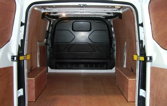 Removals Medium Van and Man Hire Bloomsbury - Inside View